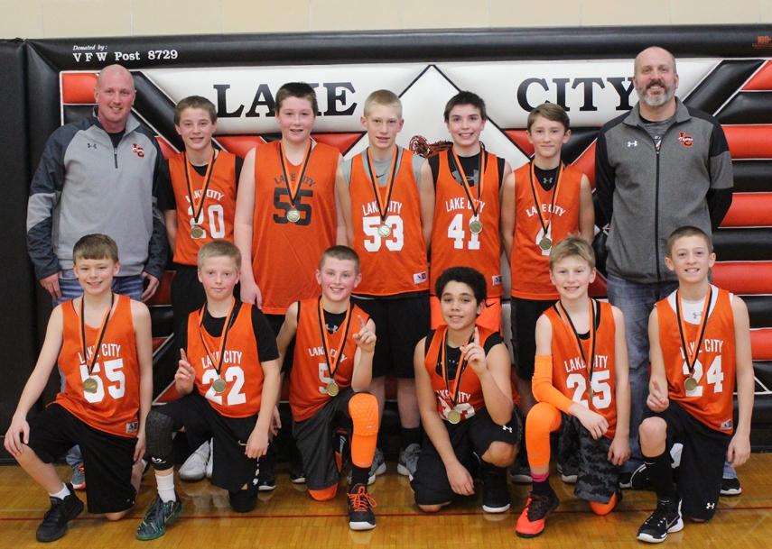 6th grade boys wins LC tourney | Lake City Graphic